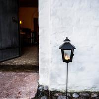 Lys ved indgang